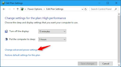 tắt tính năng tự điều chỉnh độ sáng màn hình windows 8