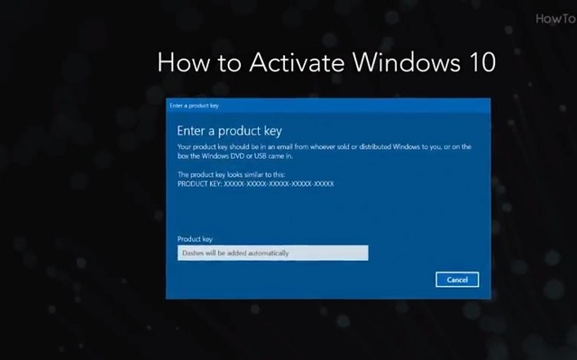 lỗi you need to activate windows before you can personalize your pc