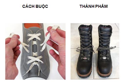 Có thể áp dụng cho tất cả các loại giày