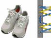 Cách thắt dây giày tạo lỗ hở độc đáo